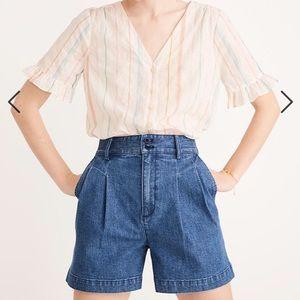 Madewell Pleated Shorts